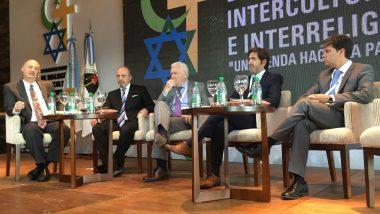 "Sagastume participó como panelista en el ""II Congreso Mundial de Dialogo Intercultural e Interreligioso"""