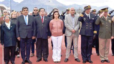 El Superior Tribunal de Justicia participó del acto por el 240º Aniversario del Natalicio del General San Martín