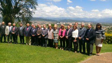 Tierra del Fuego participó del primer encuentro del año de la Ju.Fe.Jus