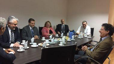 Jueces de la Cámara de Apelaciones recibieron al nuevo Ministro Consejero Cónsul de Chile