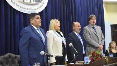 El Superior Tribunal de Justicia participó de la Sesión Inaugural del XXXV del Periodo Legislativo