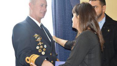 El Superior Tribunal de Justicia participó del cambio de mando del Área Naval Austral