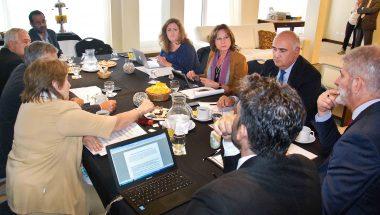 Jueces de la Patagonia sesionaron en Madryn