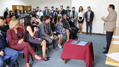 Prestaron juramento los nuevos Secretario y Prosecretaria del Juzgado de Familia y Minoridad N° 2