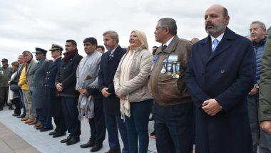 Jueces de la Argentina participaron de los actos por Día del Veterano y de los Caídos en la Guerra de Malvinas