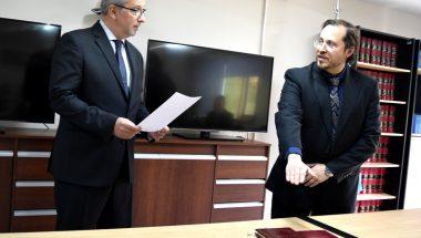 Prestó Juramento el nuevo Prosecretario Interino de la Defensoría