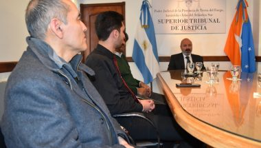 El Superior Tribunal de Justicia recibió a representantes gremiales del SEJUP