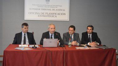 Diversos expositores en el Encuentro Federal de Planificación Estratégica