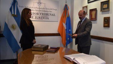 La Doctora Requejado juró como Prosecretaria del Superior Tribunal de Justicia