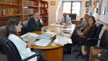El Superior Tribunal de Justicia recibió al titular de la Asociación de Magistrados