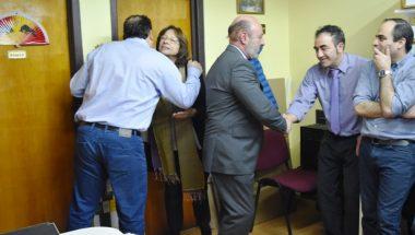 El Doctor Muchnik felicitó al personal de la Administración del Superior Tribunal de Justicia