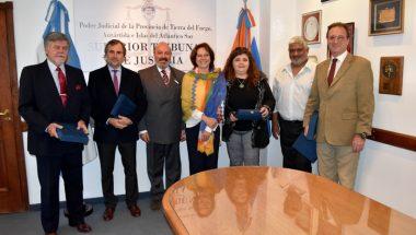 El Superior Tribunal de Justicia reconoció a personal jubilado de Ushuaia