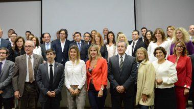 Referentes del Juzgado de Instrucción Nº 1 de Ushuaia en un encuentro  de gestión de calidad