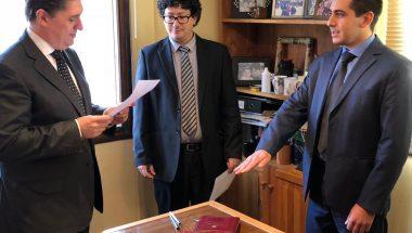 Prestó juramento el nuevo Prosecretario del Juzgado de Instrucción Nº 1 del Distrito Judicial Sur