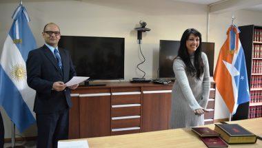 Juró la Prosecretaria del Juzgado de Familia y Minoridad Nº 1 de Ushuaia