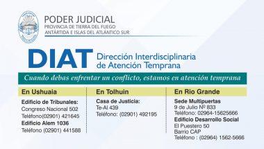Servicio de Atención Temprana desarrollado por el Poder Judicial de Tierra del Fuego se replicará en todo el país