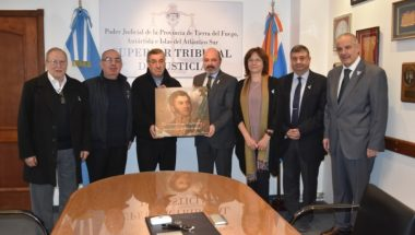 Imagen del libertador San Martín será colocada en nueva sede del Superior Tribunal de Justicia