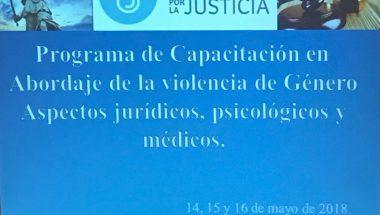 Funcionarios del Poder Judicial participaron de una capacitación intensiva sobre violencia de género