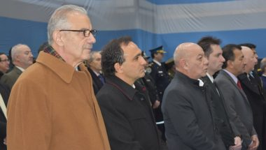 El Superior Tribunal de Justicia participó del recordatorio por el 133º Aniversario de la Policía de Tierra del Fuego