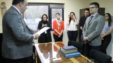 Prestó juramento Prosecretario del Juzgado Civil y Comercial N° 1 del DJN