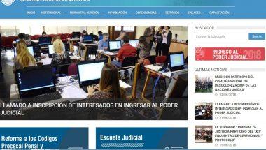 Dispondrán en el sitio web el formulario de inscripción para postulantes a ingresar al Poder Judicial