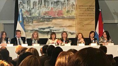 """Battaini asistió al """"XXV Encuentro Nacional de la Asociación de Mujeres Jueces de Argentina"""""""