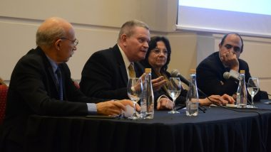 La Doctora María del Carmen Battaini expuso en Jornada de Innovación Judicial