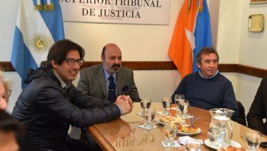 El Ministro Garavano firmó importantes acuerdos con el Superior Tribunal de Justicia
