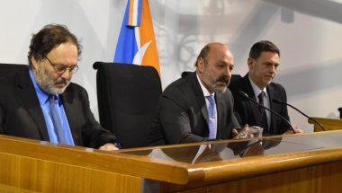 Muchnik abrió las Jornadas Australes de Derecho Público en Ushuaia y Río Grande