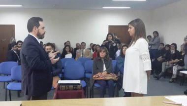 El Tribunal de Juicio de Río Grande cuenta con una nueva Prosecretaria