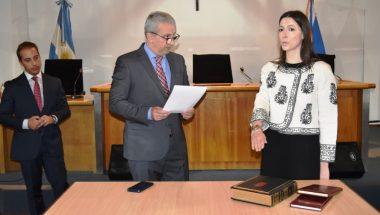 Juró la nueva Secretaria del Ministerio Público de la Defensa del Distrito Judicial Sur