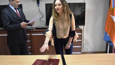 Prestó juramento la nueva Prosecretaria del Juzgado de Primera Instancia Electoral