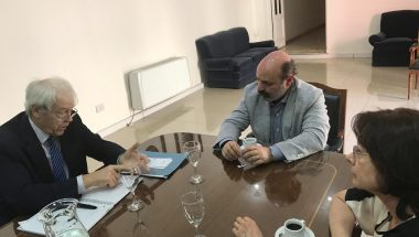 Muchnik y Battaini participaron del taller de abordaje sobre casos de abusos sexuales infantiles y adolescentes