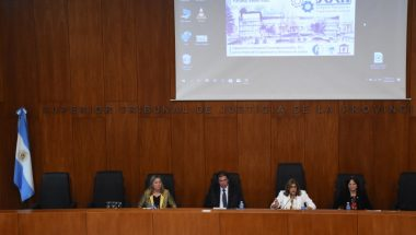 La Dra. Battaini participó del XXII Congreso Nacional de Capacitación Judicial