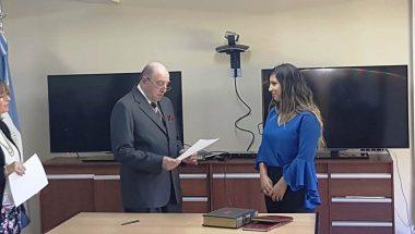 Prestó juramento la nueva Prosecretaria Interina del Ministerio Público Fiscal
