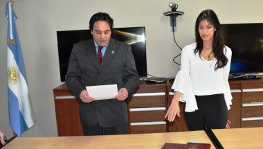 Prestó juramento la nueva Prosecretaria del Juzgado de Ejecución