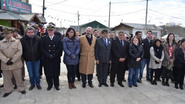 El Superior Tribunal de Justicia participó de los festejos por el 46 aniversario de la fundación de Tolhuin