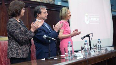 """Battaini inauguró el """"XI Congreso Nacional de Secretarios Letrados y Relatores de la Ju.Fe.Jus"""""""