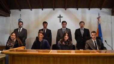 Estudiantes del Colegio Don Bosco realizaron la tradicional simulación de juicio