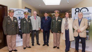 El Superior Tribunal de Justicia presente en el cambio de mando de la Jefatura  de la Gendarmería