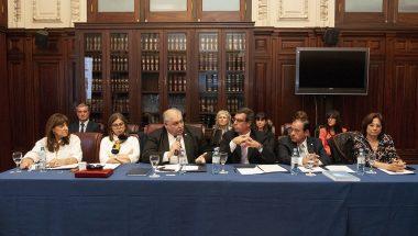 Battaini ofició de oradora en la Reunión de la Comisión Nacional de Acceso a Justicia