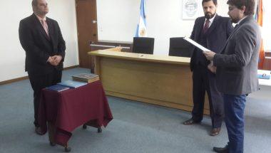 El Doctor Ariel Pinno juró como Secretario del Juzgado del Trabajo Nº 2 de Río Grande