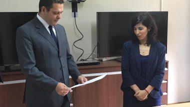 Asumió la Prosecretaria de la Sala Civil de la Cámara de Apelaciones de Ushuaia