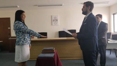 Prestó juramento la nueva  Prosecretaria del Juzgado del Trabajo Nº2 del Distrito Judicial Norte