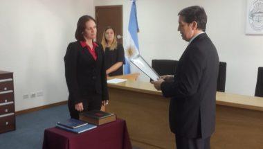 Prestó juramento la nueva Prosecretaria del Juzgado de Instrucción Nº1 Distrito Judicial Norte