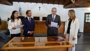 La Doctora Díaz juró como Defensora Pública de Ushuaia