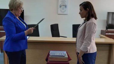 Asumió la nueva Prosecretaria del Juzgado del Trabajo Nº 1 de Río Grande