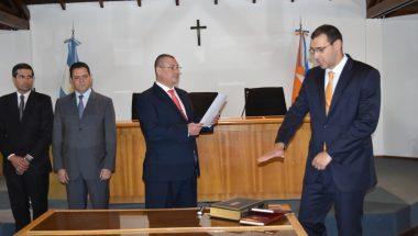 Juró el nuevo Secretario de la Sala Civil de la Cámara de Apelaciones de Ushuaia