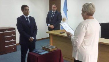 Toman juramento al nuevo Secretario del Juzgado de Primera Instancia del Trabajo de Río Grande