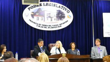 La Doctora Battaini participó de la apertura de sesiones legislativas